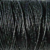 Waxed Irish Linen - 2 ply - Black (10 yds)