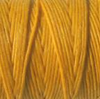 Waxed Irish Linen - 2 ply - Bright Autumn Yellow (10 yds)