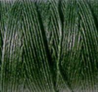 Waxed Irish Linen - 2 ply - Dark Emerald Green (10 yds)