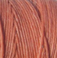 Waxed Irish Linen - 2 ply - Salmon (10 yds)