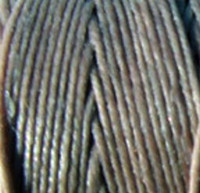 Waxed Irish Linen - 2 ply - Slate Grey (10 yds)