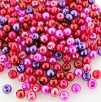 UnCommon Artistry Glass Pearl Mix 200pcs 4mm - Valentine Mix