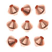 Genuine Copper Bicone Beads 4.8mm (50)