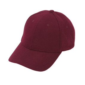 Wine Wool Blend Cap