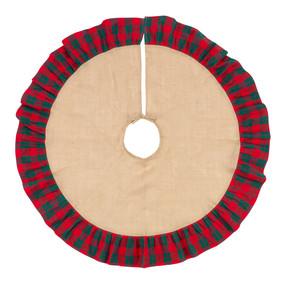 Holiday Plaid Tree Skirt