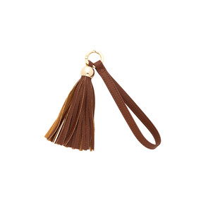 Camel Tassel Key Accessory