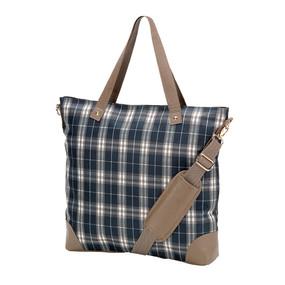 Middleton Plaid Shoulder Bag