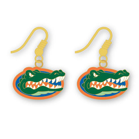 Florida Gators Earrings – Fishhook Dangles