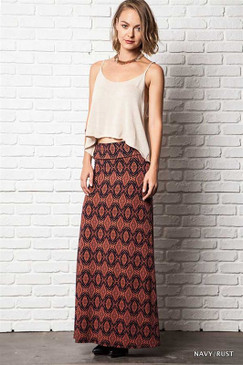One Way or Another Maxi Skirt