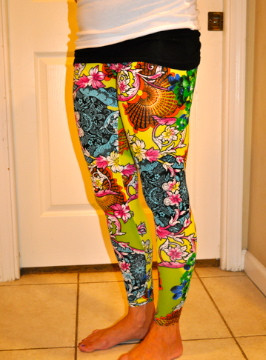 Colorful Stretch Leggings