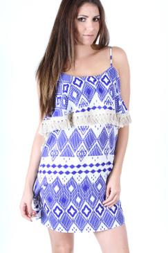 Love Letters Dress - Blue