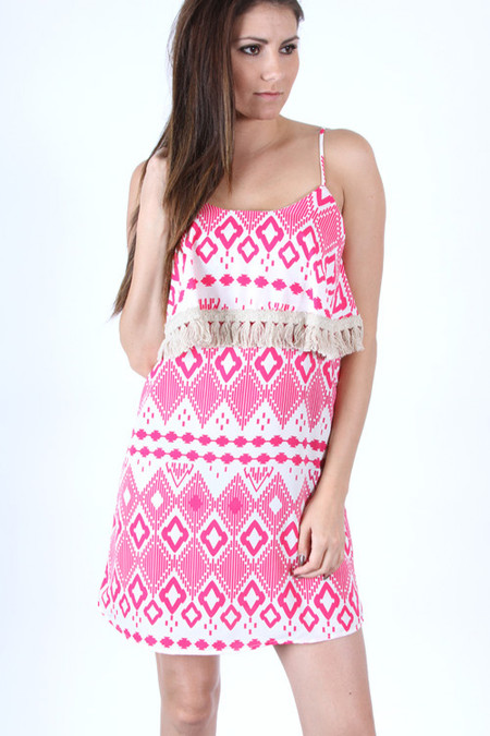 Love Letters Dress - Pink