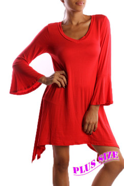 PS Plus Flared Sleeve Dress/Top