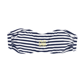 Mini Navy Prep Stripe Swim Bandeau