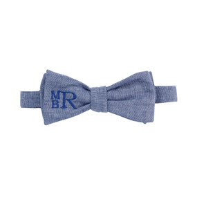 Chambray Bow Tie