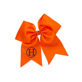 Orange Hair Bow