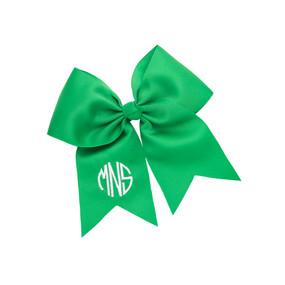 Green Hair Bow