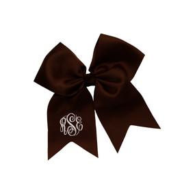 Brown Hair Bow