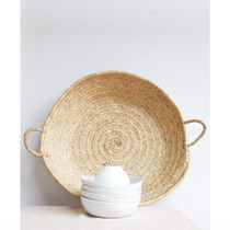 ROUND BASKET, Palm by Tine K Home