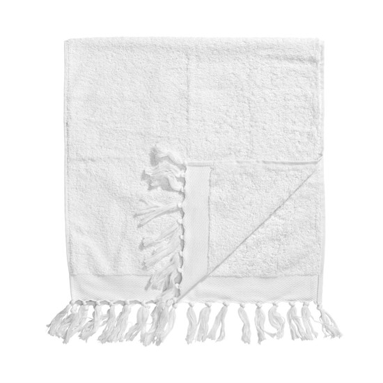 TOWEL w. fringes, Terry, L