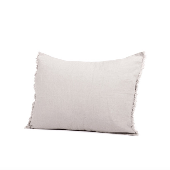 CUSHION COVER, Linen, 40x60cm, Light Grey