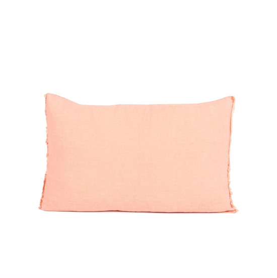 CUSHION COVER, Linen, 40x60cm, Peach