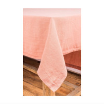 LINEN TABLECLOTH, Nais, Peach