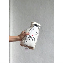 MUSIC BOX / CUSHION, Grocery, Milk bottle by Annabel Kern