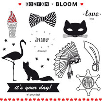 "BLOOM Temporary Tattoos, ""BONTON"""