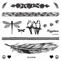 Temporary Tattoos Happiness by BLOOM