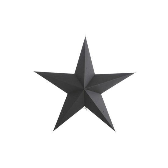 STAR, Paper, 5 points, Black, 45cm, by HOUSE DOCTOR