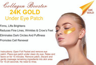 24K Gold and Collagen Crystal Eye Mask