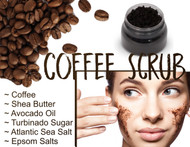 Coffee Body Scrub 8oz