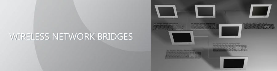 Wireless network bridges