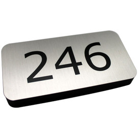 "Thick Profile Door Sign - 2"" x 4"""