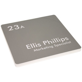 """Thick Profile Office Sign - 8"""" x 8"""""""