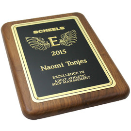 This Classic Wooden Award Plaque is the perfect gift for any employee achievement.