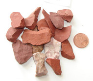 Natural Red Jasper Stone - Extra small