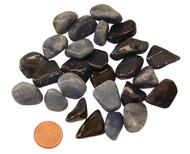 Tumbled Dumortierite Stones - size extra small