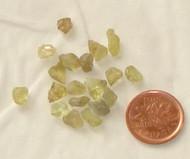 Raw Alexandrite Stones - .2 gram