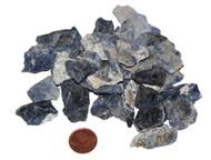 Sodalite - raw - extra small