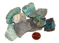 Rough stone Chrysocolla - extra large
