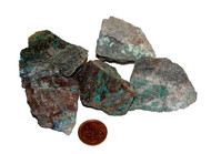 Huge raw Chrysocolla Stone