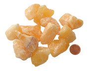 Raw Orange Calcite Stones - large