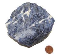 Raw Sodalite Healing Stone - Specimen A