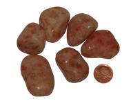 Tumbled Sunstone Stones - XX Large