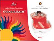 Red Chakra Color Bath - envelope