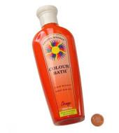 Orange Color Bath - 250 ml/8 ounce bottle