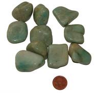 Tumbled Amazonite Stones - extra large
