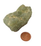 Raw Green Prehnite Stones - Specimen G